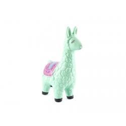 Pokladnička – zelená lama