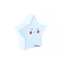 Pokladnička – modrá hviezda