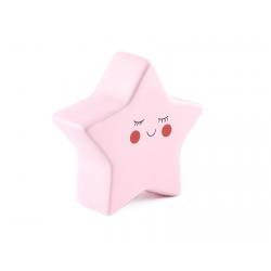 Pokladnička – ružová hviezda