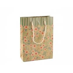 """Darčeková taška """"Kvety"""" (M)"""