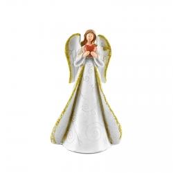 Anjel so srdcom v náručí