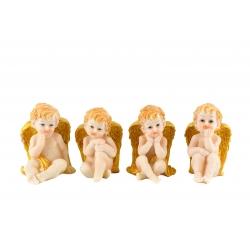 Anjeli sediaci - 4 motívy