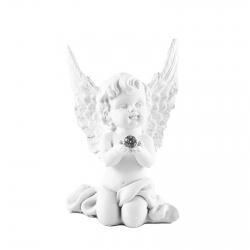 Anjel kľačiaci s guľou