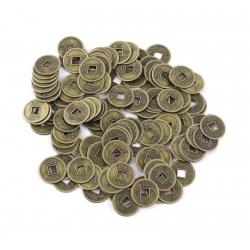 Čínska minca pre šťastie
