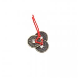 Amulet - 3 čínske mince