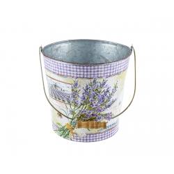 """Kovový kvetináč """"Lavender"""""""