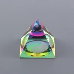 Pyramída - Yin Yang (L)