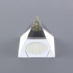 Pyramída - Kvet života (L)