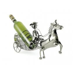 Stojan na víno v tvare...